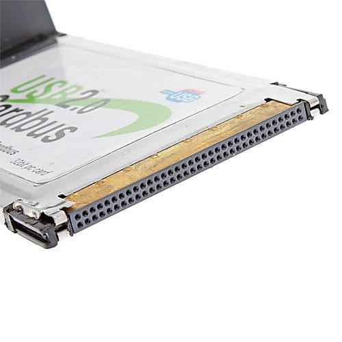 Высокоскоростной Адаптер для нескольких портов USB 2.0 Cardbus 32bit PC Card Lightinthebox 386.000