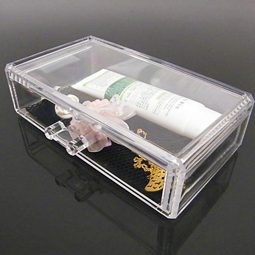 акриловая прозрачная комплекс комбинированный двойной хранения слой косметики с ящиком косметической организатора Lightinthebox 858.000