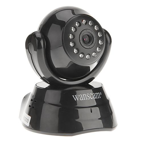 WANSCAM - телефоны, двухстороннее аудио повернуть Pan / Tilt скорость WiFi IP камеры, p2p