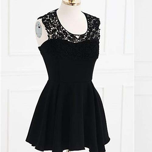 MFL Кружева спинки платье (черный) Lightinthebox 944.000