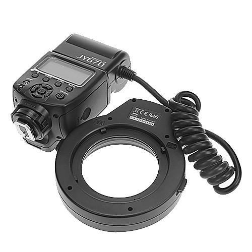 VILTROX JY-670 Профессиональный Macro Ring Flash Light Lite для Canon / Nikon / Sony Lightinthebox 3437.000