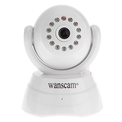 WANSCAM - телефоны, двухстороннее аудио повернуть Pan / Tilt скорость WiFi IP камеры, p2p Lightinthebox 1417.000