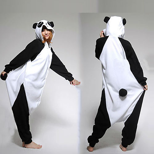 Драгоценные Panda фланели взрослых Kigurumi пижамы Lightinthebox 1288.000