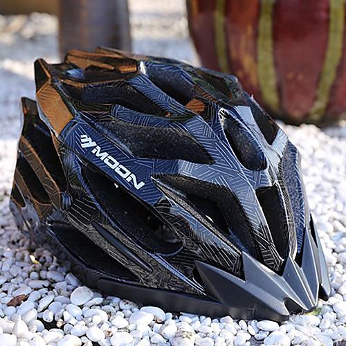 ЛУНА Велоспорт Черная PC / EPS 27 Вентс Light велосипедный шлем Lightinthebox 1718.000
