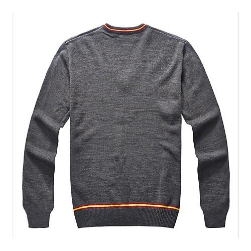 Гарри Поттер Гриффиндор Слизерин Равенкло V-образным вырезом вязаный шерстяной свитер с длинными рукавами Косплей костюмы Lightinthebox 2876.000