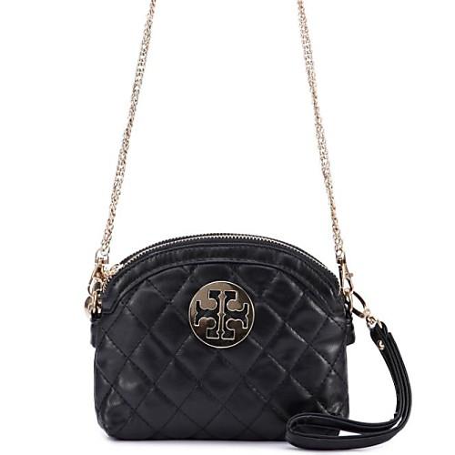 Женская мода Проверить цепь Crossbody сумка