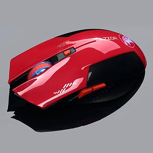 azzor орел 2.4G беспроводной мульти-клавиши точек на дюйм-переключатель игровая мышь тихо silenct нажмите Lightinthebox 472.000