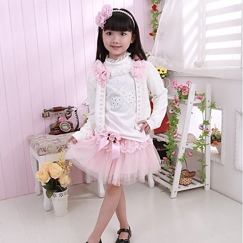 Девушки Сладкая роза Одежда наборы (3 шт) Lightinthebox 4296.000