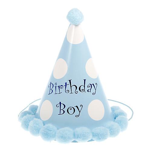 Полька Dot Pattern Birthday Hat помпоном оформлен (больше цветов) Lightinthebox 154.000