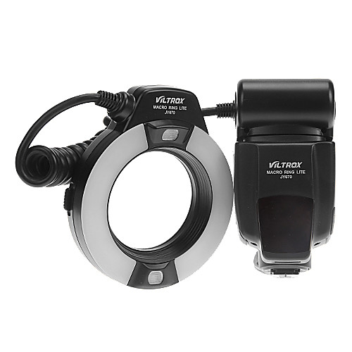 VILTROX JY-670 Профессиональный Macro Ring Flash Light Lite для Canon / Nikon / Sony Lightinthebox 3437.000