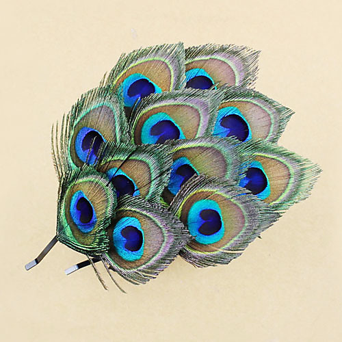 Урожай Синий перо чародей для женщин 1 шт Lightinthebox 624.000