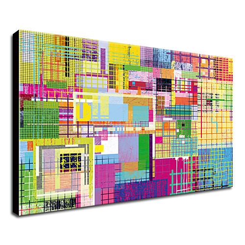 растянутый холсте поп-арт разноцветные абстрактные готовы повесить Lightinthebox 1288.000