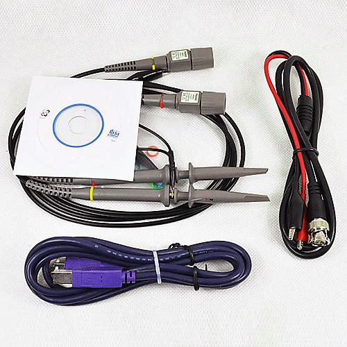 ПК на базе USB Виртуальный осциллограф 2CH 20 МГц 48MSa / с БПФ спектральный анализатор Data Logger Lightinthebox 3265.000