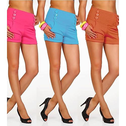 guaimi  женские элегантные эластичные высокой талии шорты Lightinthebox 530.000