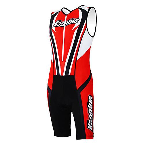 KOOPLUS - Триатлон красный  черный рукавов Износ и шорты Сиамские задействуя одежда Lightinthebox 3007.000