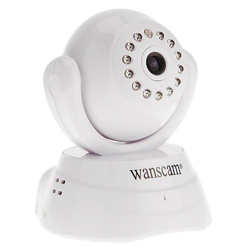 WANSCAM - телефоны, двухстороннее аудио повернуть Pan / Tilt скорость WiFi IP камеры, p2p Lightinthebox