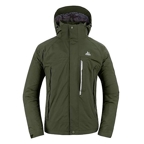 Oursky Мужская водонепроницаемая куртка Warmkeeping