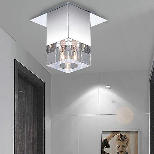 Для установки заподлицо, 1 Свет, Краткий алюминий Стекло гальванических Lightinthebox 2148.000