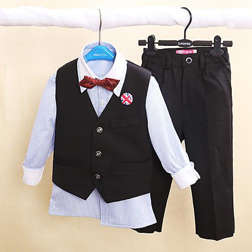 Детский мальчик носить формальный свадьба мальчик костюмы с жилетом (1159137) Lightinthebox 3007.000