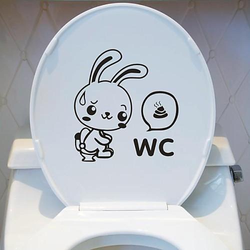 Животные Туалет Добавлено стены стикеры Lightinthebox 644.000