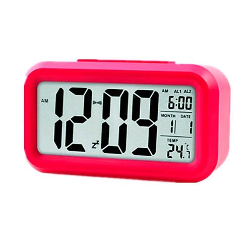 Большой ЖК-экран Многофункциональный часы, измеритель температуры с календарем и Alarm Lightinthebox 386.000