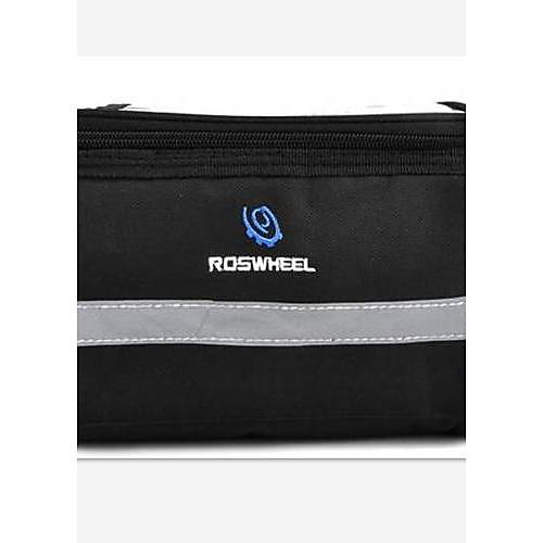 ROSWHEEL велосипед Мягкий передний сумка - Прозрачный верхний слот - черный Lightinthebox 558.000