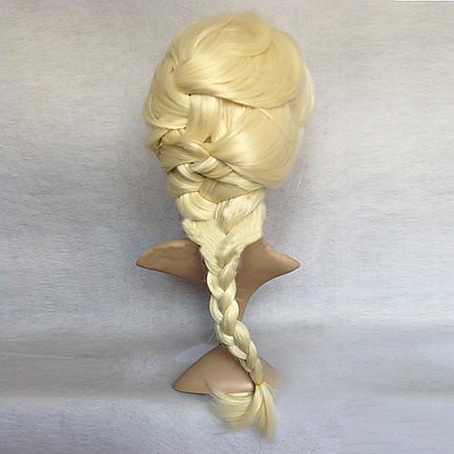 Замороженные Снежная королева Принцесса Эльза парик Золотой Косплей Lightinthebox 1718.000