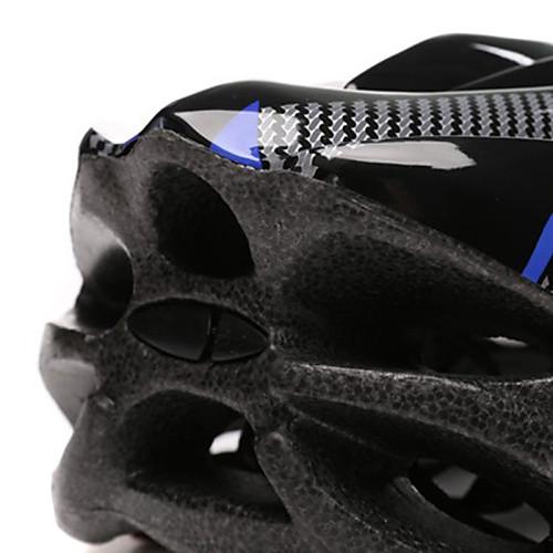 FJQXZ Мужская PC  EPS 21 Вентс черный  синий Ajustable велосипедный шлем Lightinthebox 730.000