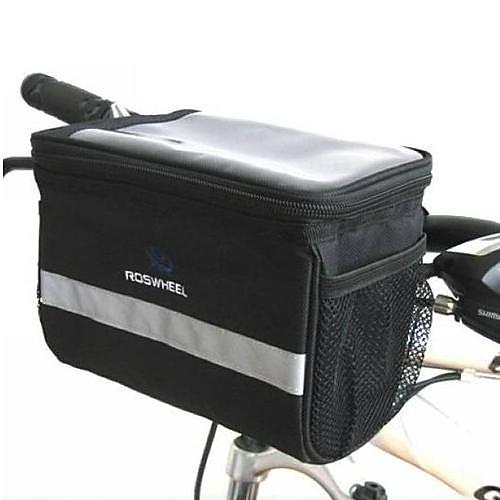 Велоспорт 600D нейлон прозрачный ПВХ водонепроницаемый Теплоизоляция Дизайн Руль велосипедов Сумка Lightinthebox 558.000