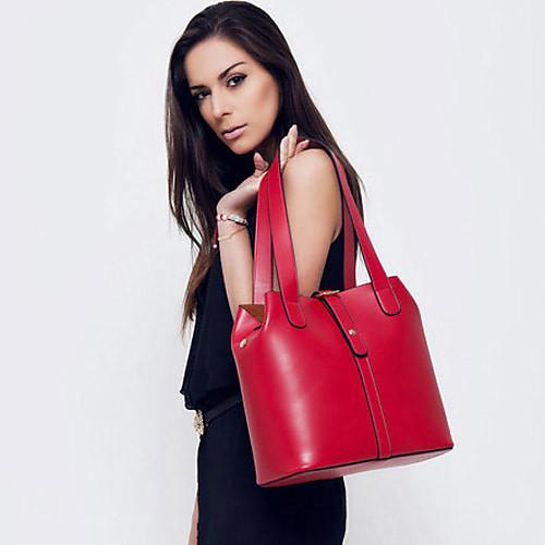 Gmn Женская Простой Винтаж одно плечо сумка (красный) Lightinthebox 944.000