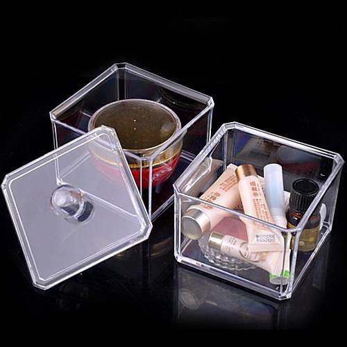 Акриловая Прозрачная комплекс Комбинированный двухслойной Косметика хранения Box Косметические Организатор Lightinthebox 429.000