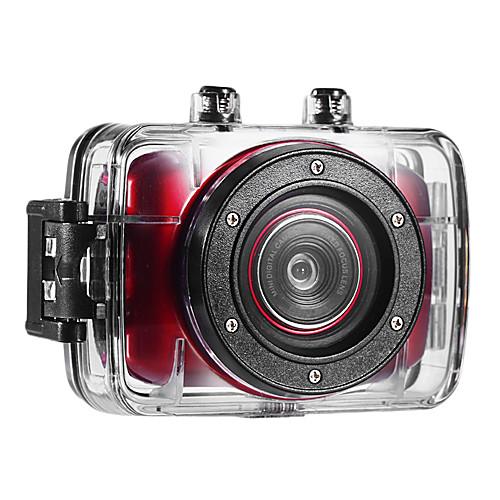 Мини видеокамера HD720P-F5R (красный)