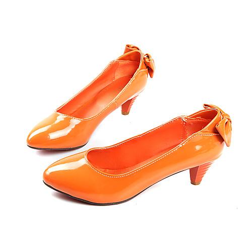 женская обувь круглый носок котенок каблук туфли-лодочки обувь больше цветов доступна Lightinthebox 1073.000