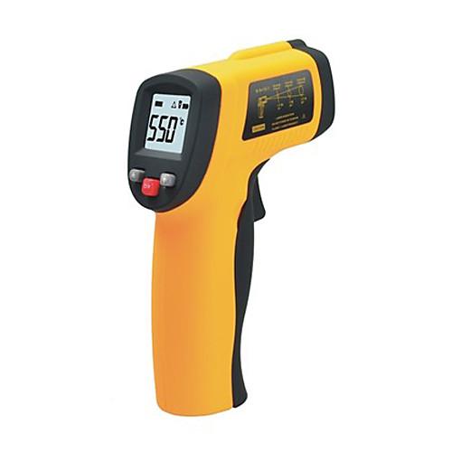 Новый ЖК Бесконтактный лазерный Точка GM550 ИК Инфракрасный цифровой термометр -50 градусов до 550 степени с Инструкция на английском Lightinthebox 1116.000