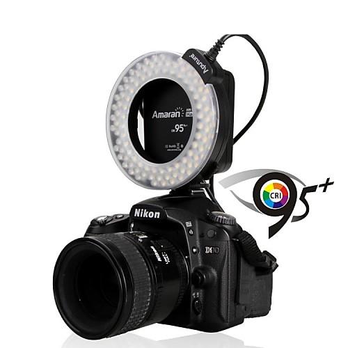 Aputure Amaran Halo АХЛ-HN100 LED Macro Ring Flash Light 95 CRI для Никон F951 Lightinthebox 1503.000