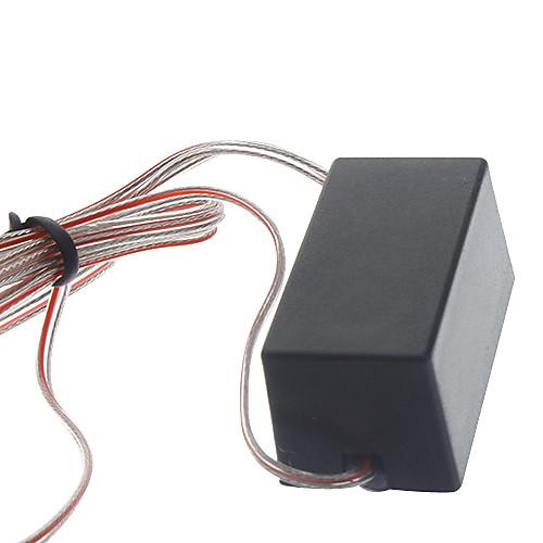 DIY мотоцикла украшения Череп светодиодный красный и синий свет строба с Strobe Control Box (2 шт) Lightinthebox 85.000