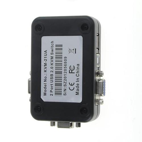 2-портовый USB 2.0 Мышь Клавиатура Видео KVM-переключатель комплект Lightinthebox 386.000