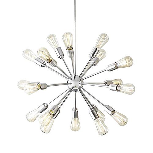 Творческий 18-Свет Матовый никель Люстра Lightinthebox 7304.000