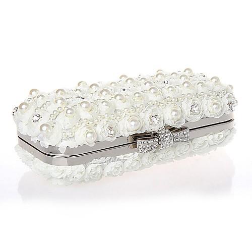 Шифон свадьба / особых поводов Муфты / Вечерние сумки со стразами / искусственный жемчуг (больше цветов) Lightinthebox 1525.000