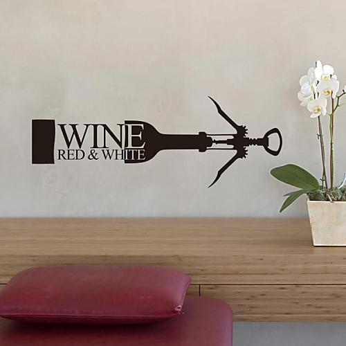 Натюрморт бутылки вина декоративные настенные наклейки Lightinthebox 858.000