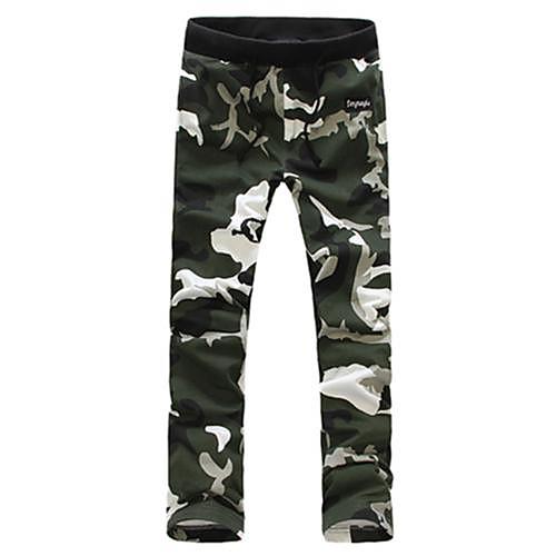 Мужская Спецодежда Камуфляж Мужчины камуфляжные штаны Lightinthebox 1033.000