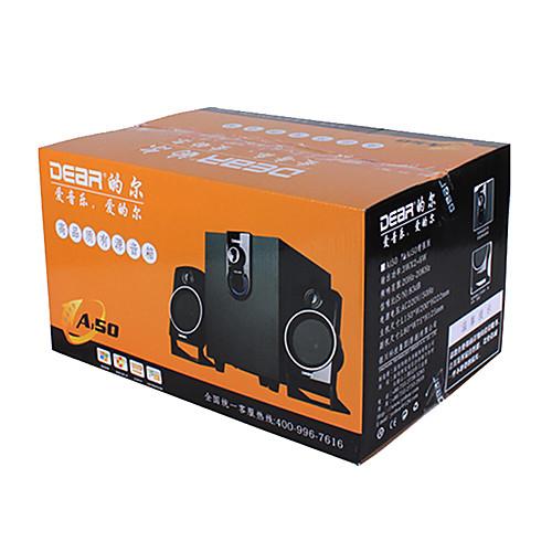 Ai50 Бас Деревянный Высокое качество Привет-Fi громкоговорителей для ПК / Multi-Media (черный) Lightinthebox 2577.000