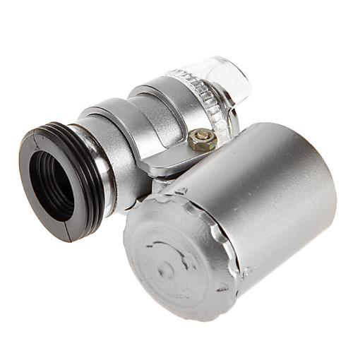 Мини 60X большом увеличении цифровой увеличитель микроскопа для iPhone5 с мобильного телефона дела Lightinthebox 687.000