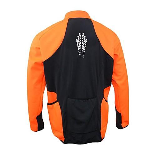 Arsuxeo Мужская полиэстер руно Велоспорт ветрозащитный куртка Lightinthebox 1718.000