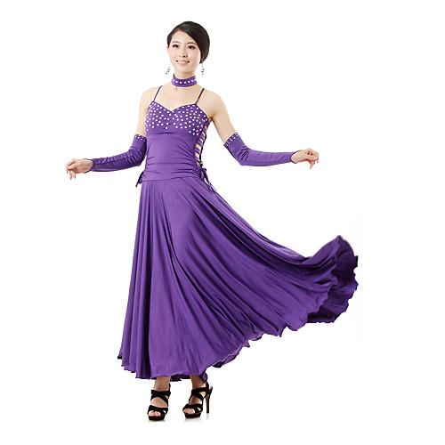 Танцевальная одежда Женская Сексуальная Straped вырез Бальные латинского танца платье (больше цветов)