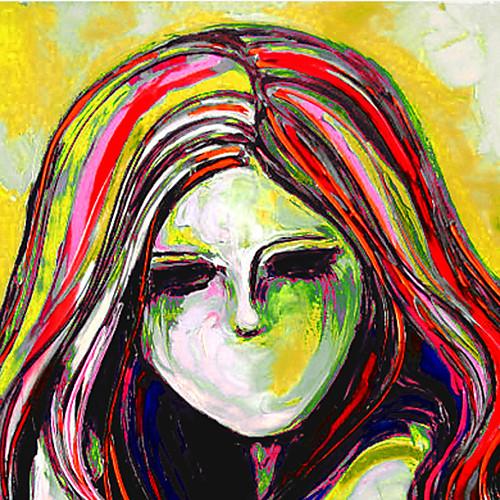 Ручная роспись маслом Люди Пикассо Стиль Голая Леди с растянутыми кадров готовы повесить Lightinthebox 3437.000