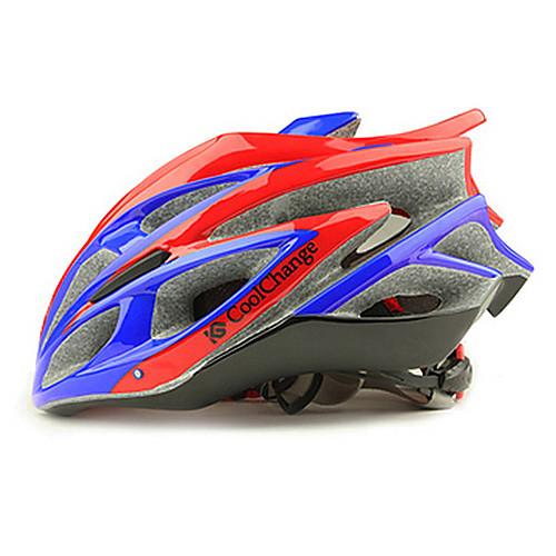 CoolChange 25 Вентс синий  красный EPS интегрального-литой Велоспорт Unibody шлем Lightinthebox 1718.000