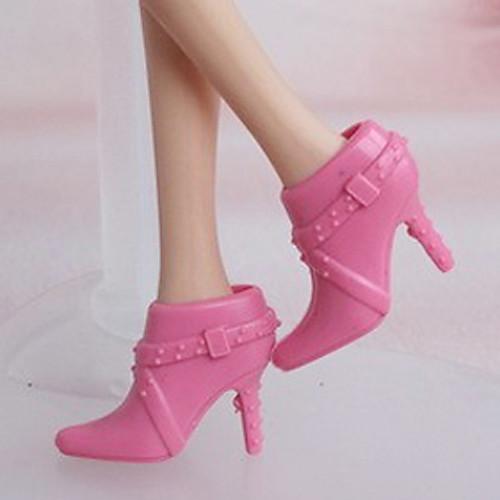 Кукла Барби Нобелевской Розовый туфли на высоком каблуке Lightinthebox 300.000