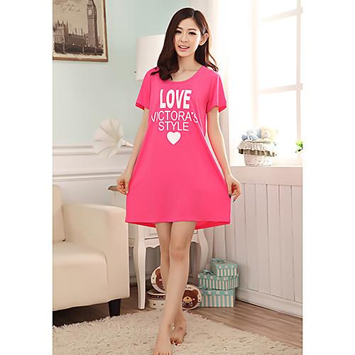Женская полосой вязать цветочным принтом пижамы Lightinthebox 558.000