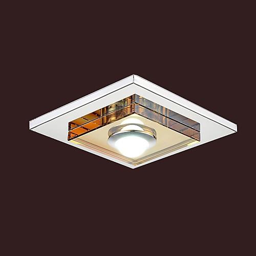 3W привели Кристалл янтаря Потолочные светильники, 1 свет, заподлицо Lightinthebox 2148.000